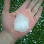 Hail in Edenvale