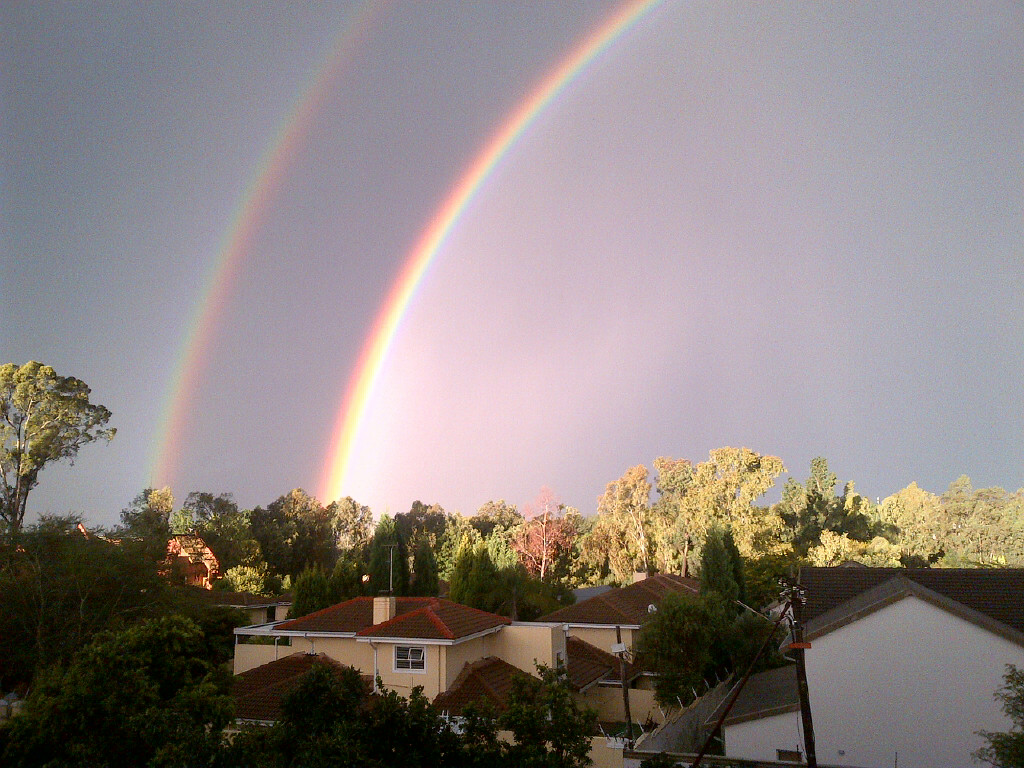 Double Rainbow Johannesburg