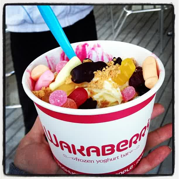 Wakaberry FroYo