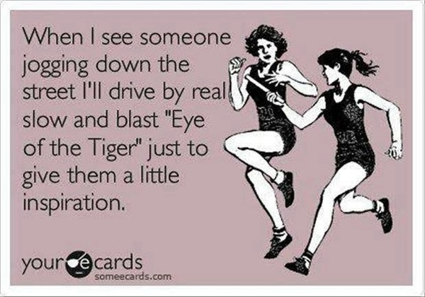 Eye of the tiger drive by