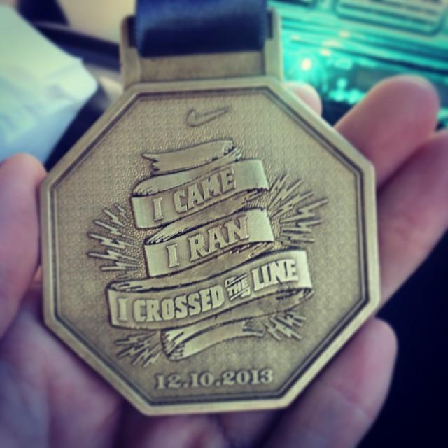 RunJozi Medal